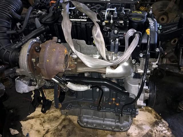 Двигатель б/у D4HB 2.2 дизель