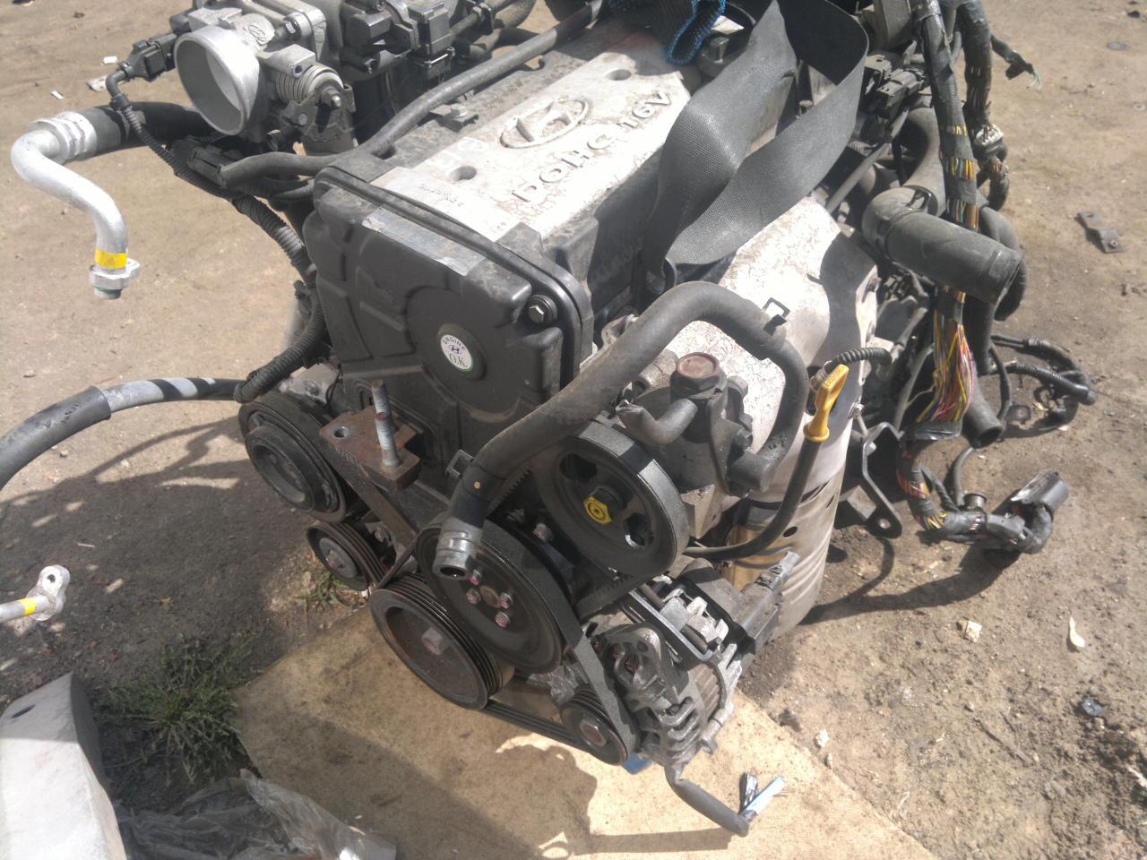 Двигатели Хендай