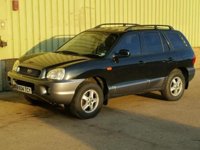 i16 Santa Fe 2004 2.4 mkpp RX04TCY Lot 31206626